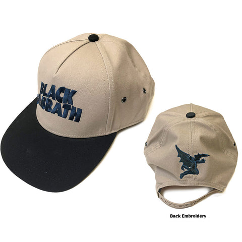 Black Sabbath - Wavy Logo Cap (UK Import)