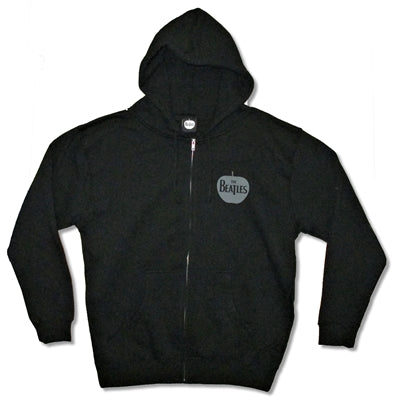 The Beatles - Apple Pocket Logo Zip Up Hoodie