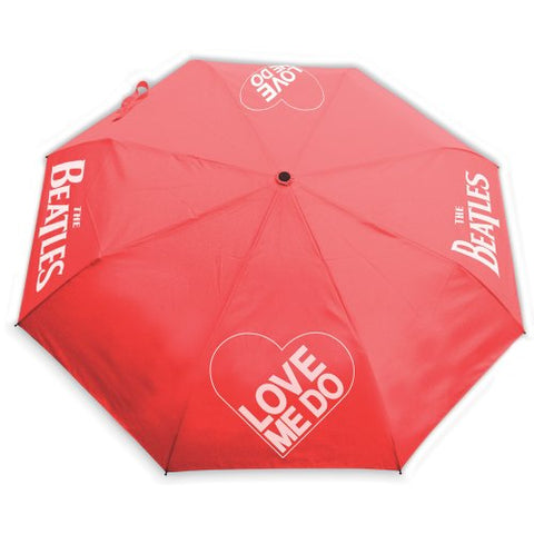 The Beatles - Love Me Do With Retractable Fitting Umbrella (UK Import)