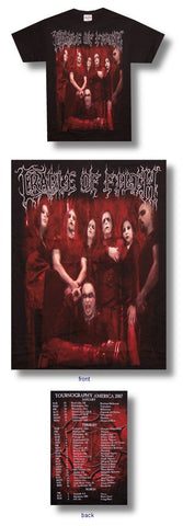 Cradle Of Filth - Vampire Tour T-Shirt