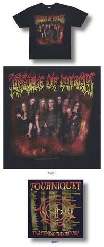 Cradle Of Filth - Tourniquet Tour T-Shirt