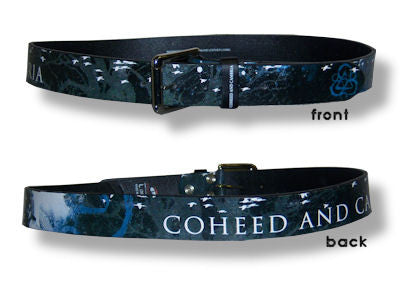 Coheed And Cambria - All Over Print Leather Belt