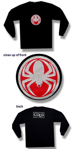 Cold - Spider Medallion Long Sleeve Shirt