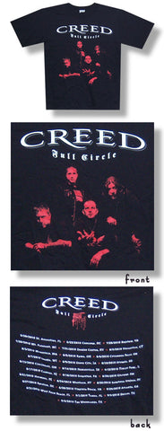 Creed - Red Faces Tour T-Shirt