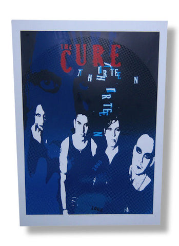 The Cure - 13 Lithograph Poster