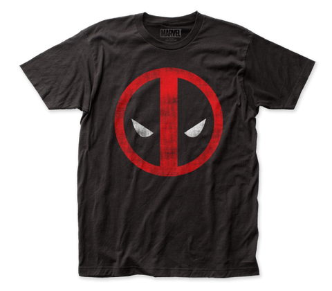 Deadpool - Marvel - Distressed Logo - T-Shirt