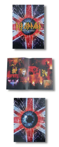 Def Leppard - Rock Of Ages Tour Book
