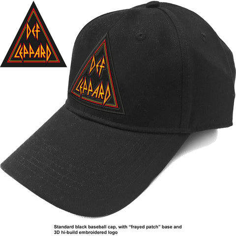 Def Leppard - Tri Logo Baseball Cap (UK Import)