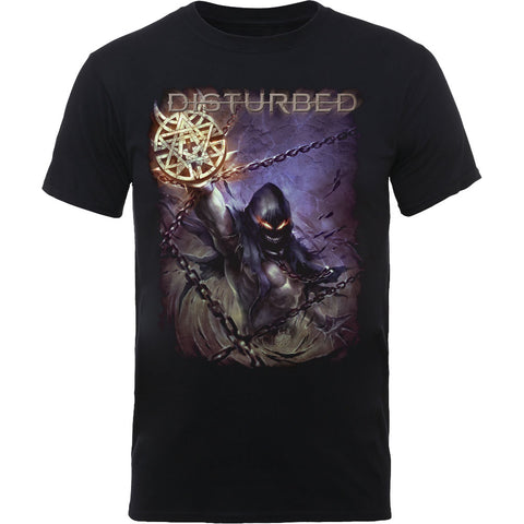 Disturbed - Vortex Colours T-Shirt (UK Import)