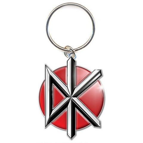 Dead Kennedys - Metal Logo Keychain (UK Import)