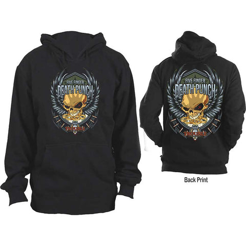 Five Finger Death Punch - Trouble Pullover Hoodie (UK Import)