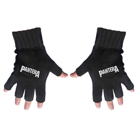 Pantera - Logo - Fingerless Gloves (UK Import)