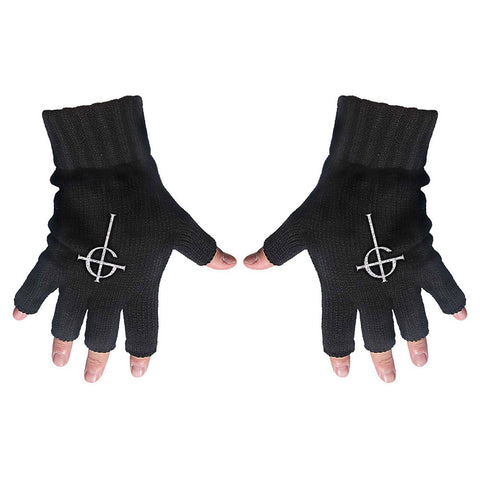 Ghost - Ghost Cross - Fingerless Gloves (UK Import)