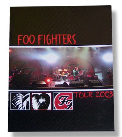 Foo Fighters - Tour Book