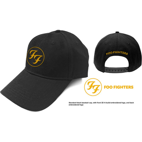 Foo Fighters - Circle Logo - Baseball Cap (UK Import)