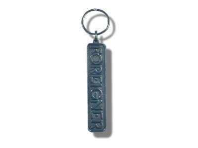 Foreigner - Pewter Keychain
