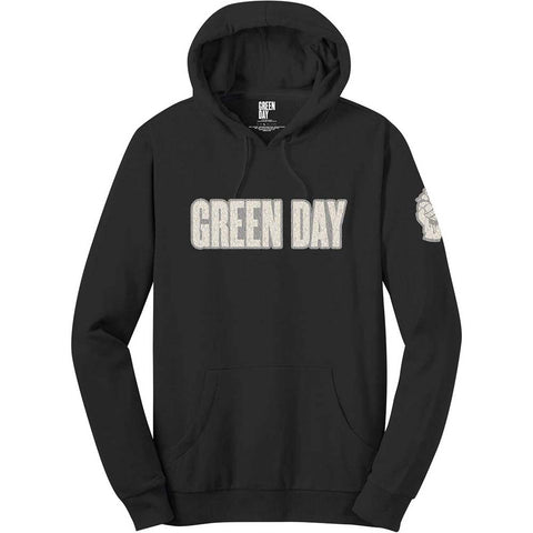 Green Day - Logo & Grenade Pullover Hoodie (UK Import)