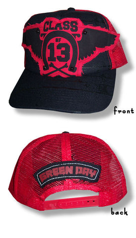 Green Day - Patch Mesh Trucker Cap