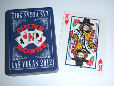 Guns N Roses - Playing Cards
