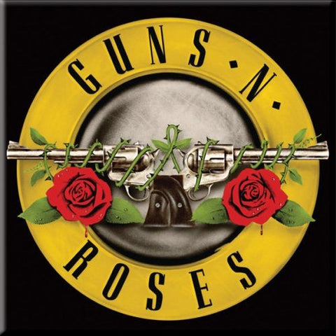 Guns N Roses - Bullet Logo Fridge Magnet (UK Import)
