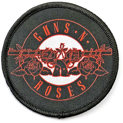 Guns N Roses - Woven - Red Circle Logo - Collector's Patch (UK Import)