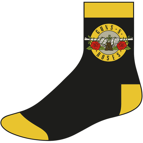 Guns N Roses - Circle Logo Ankle - Socks (UK Import)