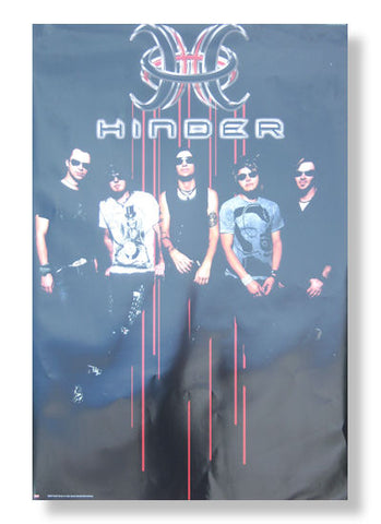 Hinder - Group Photo Rolled - Poster