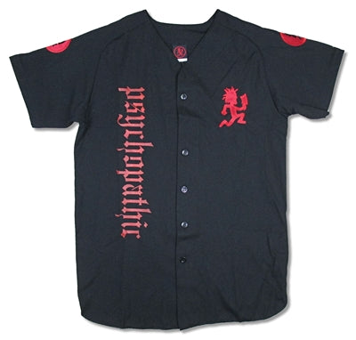 Insane Clown Posse - Embroidered Button Down Baseball Jersey