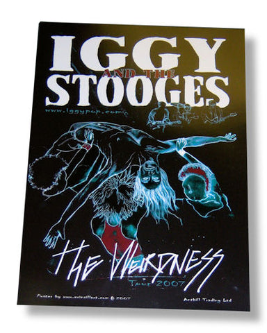 Iggy & The Stooges - Concert Rolled - Poster