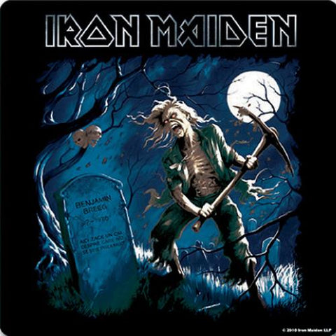 Iron Maiden - Coaster - Benjamin Corked Back-Corkboard-Drinkware (UK Import)
