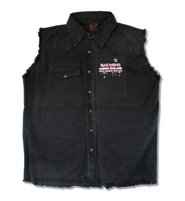 Iron Maiden - Sleeveless Denim - Vest