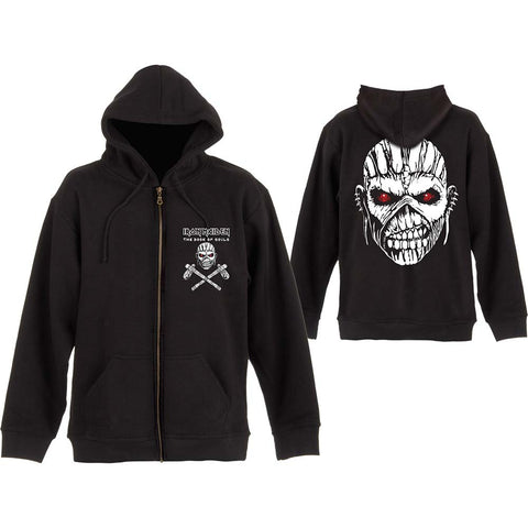 Iron Maiden - Eddie Axe Zip Hoodie (UK Import)