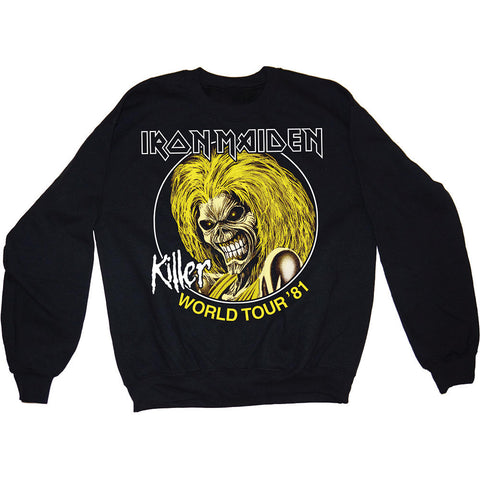 Iron Maiden - Killers 81 Crewneck Sweater (UK Import)