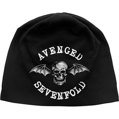 Avenged Sevenfold - Death Bat Discharge Print Beanie (UK Import)