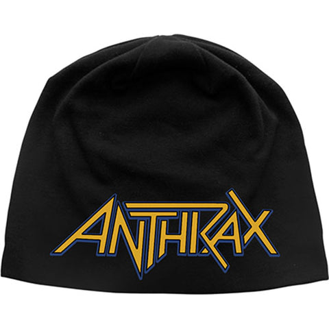 Anthrax - Logo Discharge Print Beanie (UK Import)