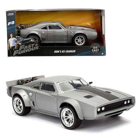 Fast & Furious - Fast & Furious 8 - 1:24 Scale Die Cast - Dom's Ice Charger