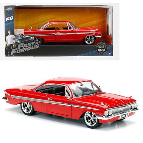 Fast & Furious - Fast & Furious 8 - 1:24 Scale Die Cast - Dom's Chevy Impala