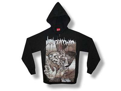 Job For A Cowboy - Priest Zip Hoodie