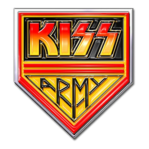 KISS - Army Pennant Lapel Pin Badge (UK Import)