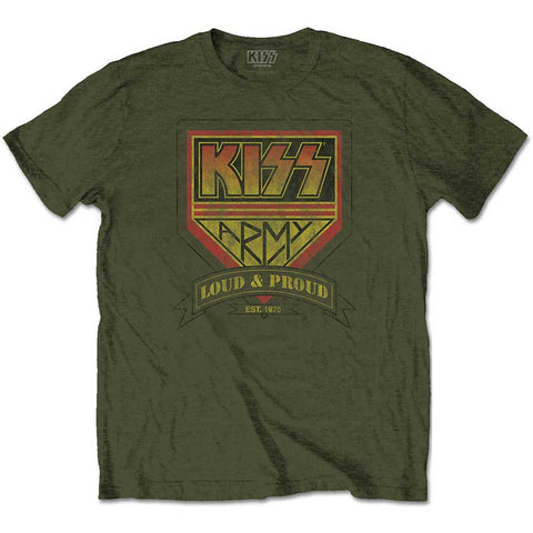 KISS - Loud & Proud T-Shirt (UK Import)