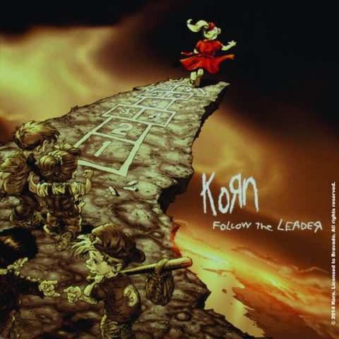 Korn - Coaster - FTL Corked Back-Corkboard-Drinkware (UK Import)