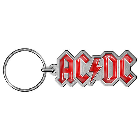 AC/DC - Metal Logo Keychain (UK Import)