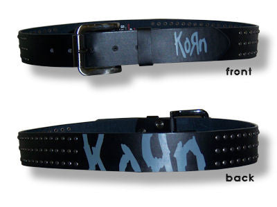 Korn - Studded Leather Belt