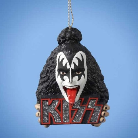 KISS - The Demon Head Hanging Ornament (UK Import)