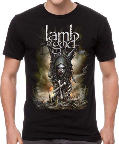 Lamb Of God - Spirit Warrior T-Shirt
