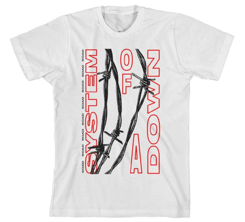 System Of A Down - Barbed Wire T-Shirt