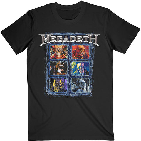 Megadeth - Vic Head Grid - T-Shirt (UK Import)