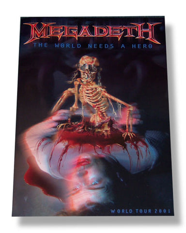 Megadeth - The World Needs A Hero Tour Book
