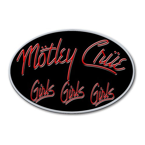 Motley Crue - Logo GGG Lapel Pin Badge (UK Import)
