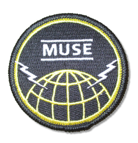 Muse - Globe Embroidered Patch